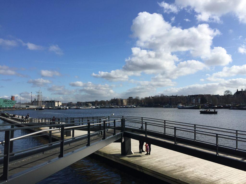terrazas gratis en Amsterdam