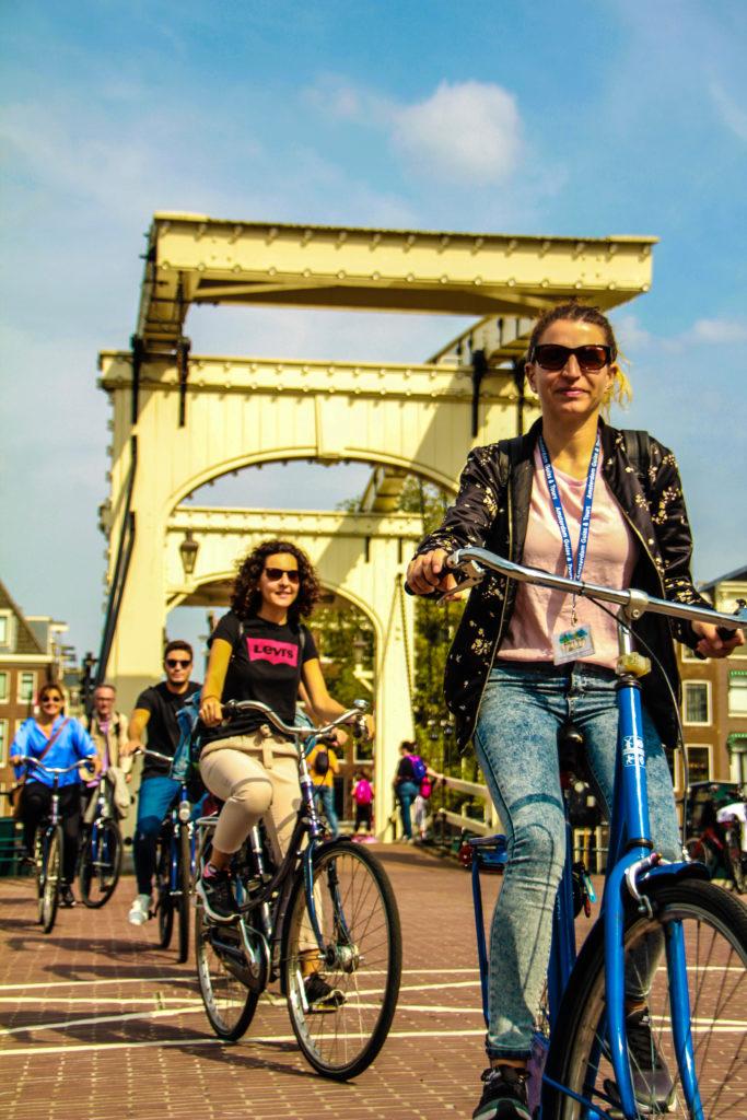 Tour por Amsterdam en bicicleta